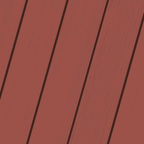 Exterior Wood Stain Colors - Navajo Red - Wood Stain Colors From OlympicStains.com