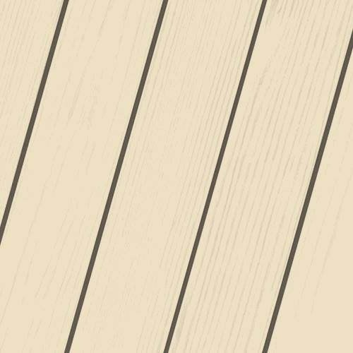 Wood Stain Colors - Classic Creme Exterior Wood Stain Color - Stain Colors For DIYers & Professionals