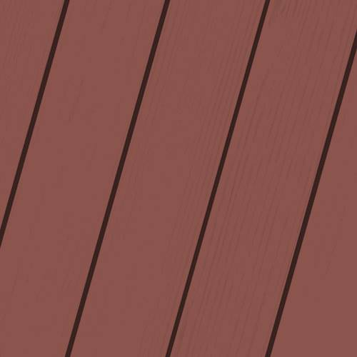 Wood Stain Colors - New Pilgrim Red - Stain Colors For DIYers & Professionals