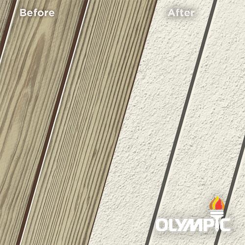 Exterior Wood Stain Colors - Mystic White - Wood Stain Colors From OlympicStains.com