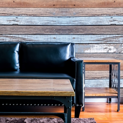 Dark Shiplap Wall