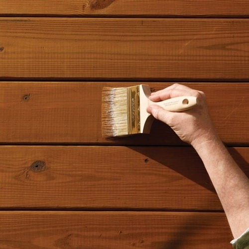 Staining The Deck: Touchups