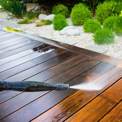 How To Wash Your Deck Washing Tips