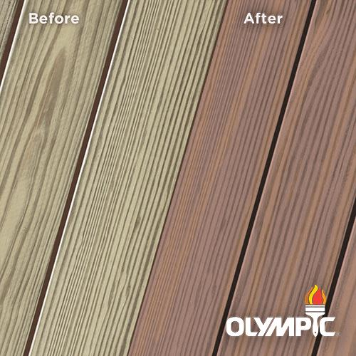 Exterior Wood Stain Colors - Grape Slate - Wood Stain Colors From OlympicStains.com