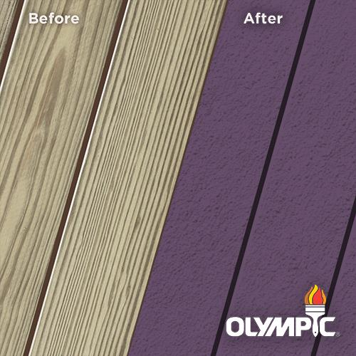 Exterior Wood Stain Colors - Purple Velvet - Wood Stain Colors From OlympicStains.com