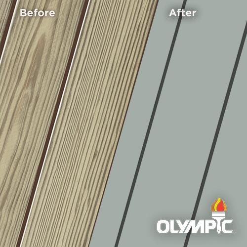 Exterior Wood Stain Colors - Aqua Smoke - Wood Stain Colors From Olympic.com